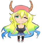 Chibi Lucoa by blitzkriegyudith