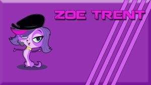 Zoe Trent Wallpaper by theotherainbowdasher