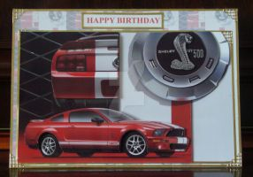Bens Ford Mustang Card by blackrose1959