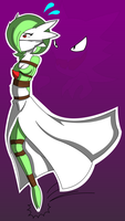 Hopping Gardevoir (Colored)