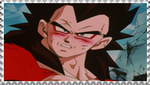 SSJ4 Vegeta stamp by VegetasLittleLover