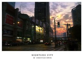 nightless city by binbinzai