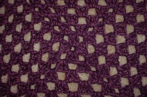Close Up of My Afghan by ArielManx