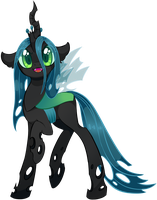 Queen Chrysalis by UncertainStardust