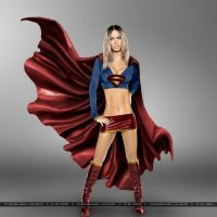 Megan Fox - Supergirl by SilentArmageddon