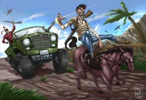uncharted: the hot pursuit by artnerdx