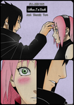 Sasuke And Sakura by AnaUzumakii
