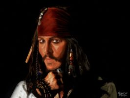 Jack Sparrow by FrZnChAoS