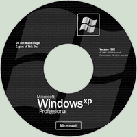 Windows XP Professional Lightscribe Disc Label by macleodmac