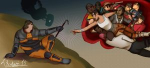 The Creation of Valve Characters by tfantoni