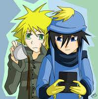 Creek - Craig x Tweek by Timeless-Knight