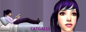 Her purple 6teen by CatGal15