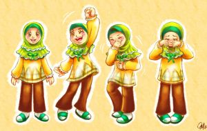 muslimah girl by ambientdream
