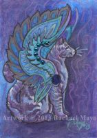 ACEO Cat 01 by rachaelm5
