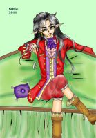 Feanaro and 18th century outfit by Celerana-chan