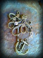 Release the Kraken Fantasy Key by ArtByStarlaMoore