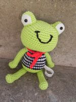 Amigurumi - Frog - So French by Marlou-Chan