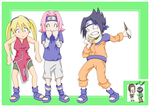 Naruto - Laundry Day by tacokisses