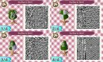 Animal Crossing QR Code: Slytherin Shirt by winxJenny
