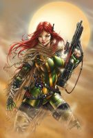 Hope Summers X Men, J. Tyndall by sinhalite