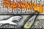 Rise Against Thursday Poster by todayiwait
