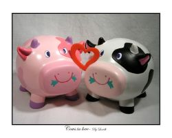 Cows in love by lexidh