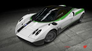 Ace Combat 5 Special Ace Paint for Huayra on Forza by Carl1N