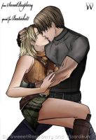 RE4: Leon x Ashley by Wiz-Dan