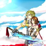 Tidus and Yuna by daninja293