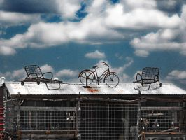 Rooftop Relaxation by krissybdesigns