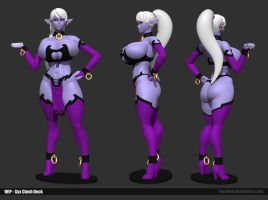 Syx Clash Wip 01 by Texelion