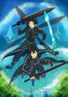 Sword Art Online Kirito by Gaviniko