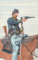 Union Cavalryman by OrlopRat