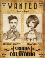Wanted - booker and elizabeth by unsolvedenigma