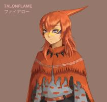 Talonflame by Reef1600