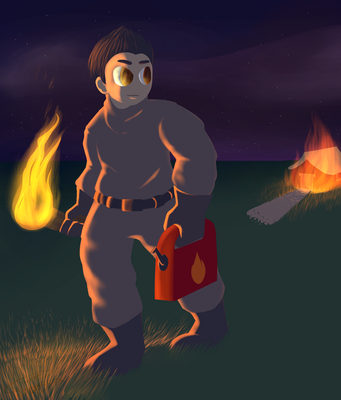 [REDRAW] Arsonist by Tareloin
