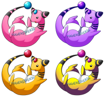 Coloring that Ampharos by Togekisser