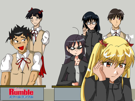 School Rumble Role Changed WTF by Tazawa