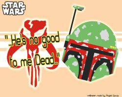 BOBA FETT WALLPAPER by LOLOexists