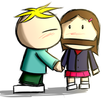 Butters and Charlottel by aq1746950