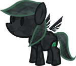 Paper Crystal Thorn (My Paper Pony) by Mlp-Antasma-Beat