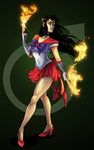 Sailor Mars 01 by 9ofcups