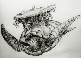 The Great A'tuin by MollySpeaight