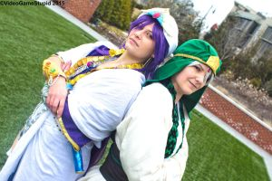 Katsucon 2015 - Jafar and Sinbad(PS) 09 by VideoGameStupid
