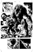 Moon Knight 20: Page 27 Pencil by MikeDeodatoJr