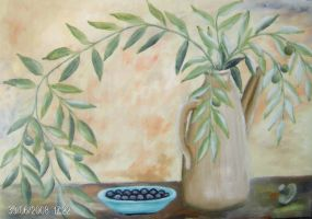 Olive branch by ritsasavvidou