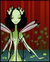 The Dragonfly Queen by minimonster777