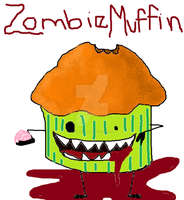Zombie Muffin by LoveMuffin3
