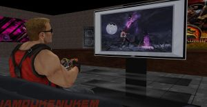 Duke Plays Mortal Kombat by IamDukeNukem