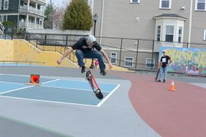 The Skateboarder Action Shot 17 by Miss-Tbones